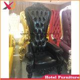 Restaurant de luxe trône roi Reine fauteuil canapé en bois pour le dîner