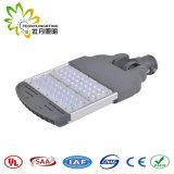 Luz de calle ajustable del LED 100W al aire libre, lámpara de calle solar barata de la luz de calle del LED LED con la aprobación de Ce& RoHS