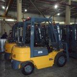 2/2.5/3/3.5/5 tonne Essence Essence GPL Gaz chariot élévateur à fourche