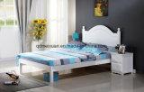 Cama de madera maciza modernas camas dobles (M-X2316)