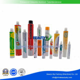 Kosmetische pharmazeutische Haut-Sorgfalt-Haar-Farben-verpackendes leeres zusammenklappbares Aluminiumsahnegefäß