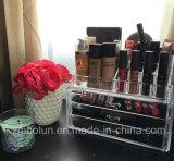 Étalage cosmétique organisateur acrylique bien choisi chaud neuf de mode de meilleur