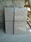 Granito chinês G682, granito do ouro do por do sol, telhas amarelas oxidadas do granito para Floooring