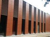 Tarjeta Ultravioleta-Resistente de la pared exterior del grano 8m m Textured colorido