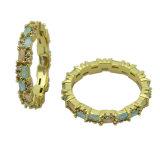 Nieuw Eenvoudig Ontwerp 925 van de Manier de Zilveren Ring van Juwelen (R10996)