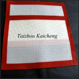 Couvre-tapis de traitement au four de fibre de verre de silicones d'approvisionnement de boulangerie