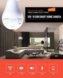 Video astuto del bambino con la lampadina Vr della videosorveglianza di funzione di P2p videocamera di sicurezza del CCTV da 360 gradi