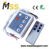 Garantía de larga controlador LED RGB con mando a distancia Ce RoHS