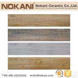 Glasig-glänzende hölzerne Blick-Fliese-keramische Fußboden-Fliese für Hauptdekoration
