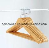 De stevige Houten Hangers van het Kostuum met Dikke Houten Hangers (m-X3214)