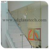 Niedriges Eisen-ultra freies Glas mit verschiedener Größe u. Stärke