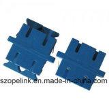 Manutenção programada do duplex do adaptador da fibra óptica para o cabo de fibra óptica