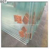 6mmの低い鉄の浮遊物のSgtからの極度の白いフロートガラス