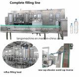 Água Potável Rinser-Filler Mineral completa-Capper Engarrafamento da linha de embalagem de garrafa pet