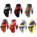 100% Motocross Mx/MTB ходовая часть Enduro Bike перчатки черный/серый