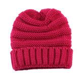 Крест зимы осени малышей детей теплый связанный Slouchy покрывает заплетенный Beanie переплетенный шлем кабеля (HW600)