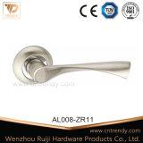 아연 알루미늄 목욕탕 침실 자물쇠 레버 문 손잡이 (AL238-ZR23)