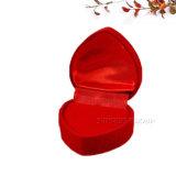 빨간 로즈 디자인 우단 심혼 모양 선물 포장 상자 - 사례 1