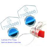 플라스틱 안전 물 및 전기 미터 강선전도 자물쇠 물개 (KD-601)