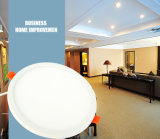 Indicatore luminoso di comitato di alluminio di AC85-265V 2700K-7000K 3W6w9w12W18W LED con Ce, approvazione di RoHS