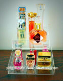 2018 carrinhos de indicador acrílicos do perfume do projeto novo