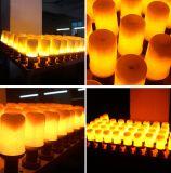 Lamp van de LEIDENE de Trillende Bol van de Vlam, de Ware Lantaarn van de Vlam van de Kleur van de Brand 1300K