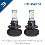 Lmusonu S1車LEDのヘッドライトH13のヘッドライトのFanlessデザイン35W 4000lm
