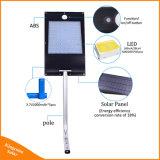 IP65 81 LED 1000 Lumen Rue lumière solaire intégré du capteur de mouvement de plein air des lampes solaires