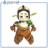 Projetar possuir o brinquedo enchido do luxuoso do unicórnio do bordado do brinquedo do luxuoso o costume animal