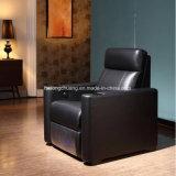 Sofà domestico elegante VIP8806 del cuoio del Recliner dell'angolo del cinematografo della mobilia di svago