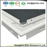 Tegel van het Plafond van het Metaal van de fabriek de Decoratieve Geperforeerde Akoestische met ISO9001