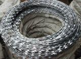 Ss/Stainless鋼鉄アコーディオン式かみそりの有刺鉄線