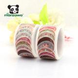 cinta japonesa de Washi de los anillos de espuma del rodillo de la etiqueta engomada 80PCS para la decoración del planificador