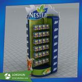Étalages de stand d'étage de détail de carton de Nestea