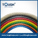 """Protective Sleeve ATV UTV Truck Boat에 Rope 거친 95FT x 3/8 """" Synthetic Winch Rope Line Cable 20500lbs"""