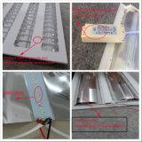 Metal feito sob encomenda que carimba o dispositivo elétrico claro de painel do teto da grade do diodo emissor de luz do diodo emissor de luz 40W de 600*600mm