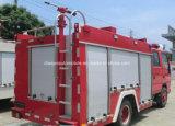 Isuzu 4X2 5000L水2000L泡のタンカーの火はトラックを消す