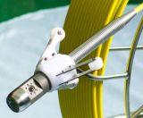Cámara del examen del tubo de alcantarilla del dren de la rotación de 360 grados con la cámara de 38m m y el carrete de cable de 9m m