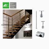 2017 elegante interior de la Escalera de acero inoxidable pasamanos pasamanos