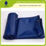 Tecido de vinil impermeável de tecido revestido de PVC Lona laminada de lona de PVC da Tampa