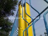Cerca soldada 3D galvanizada cubierta PVC del acoplamiento de alambre