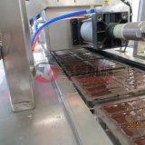 Máquina de depósito do chocolate semiautomático (molde que dá forma)