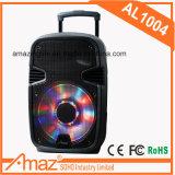 공장 강한 힘 리튬 건전지 Amaz 최신 판매 고명한 상표 10inch 다채로운 가벼운 스피커