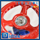 Valvola di ritenuta completamente guida del globo di Wcb del volante di Didtek