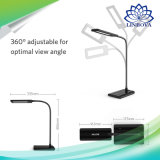 Der Helligkeits-4 intelligente Schreibtisch-Lampen-Tisch-Lampe Noten-des Steuerled mit Dimmable Beleuchtung
