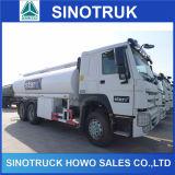 Cnhtc HOWO 유조선 6X4 20000L 20kl 연료 탱크 트럭