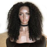 Черноты части способа Dlme парик волос свободно курчавый синтетический