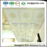 Fabricante de polímeros de alta qualidade do painel do teto de alumínio com a norma ISO9001