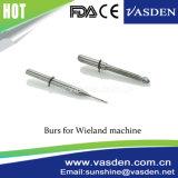 Совместимые системы из карбида вольфрама обедненной смеси Cadcam Wieland фрезерования инструмент щепок стоматологии