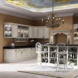 De nieuwe Moderne Keukenkasten van het Ontwerp van de Douane van Cabinetry van de Voorraadkast van het Ontwerp met Witte Kleur